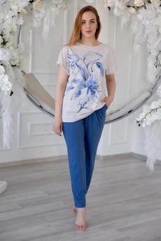 Легкий костюм: брюки и футболка Lika Dress