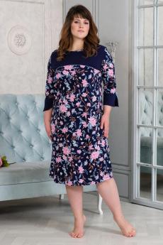 Платье с цветами Шарлиз